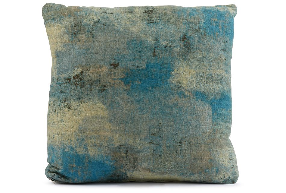 """Antalya Teal 18"""" Square Accent Pillow"""