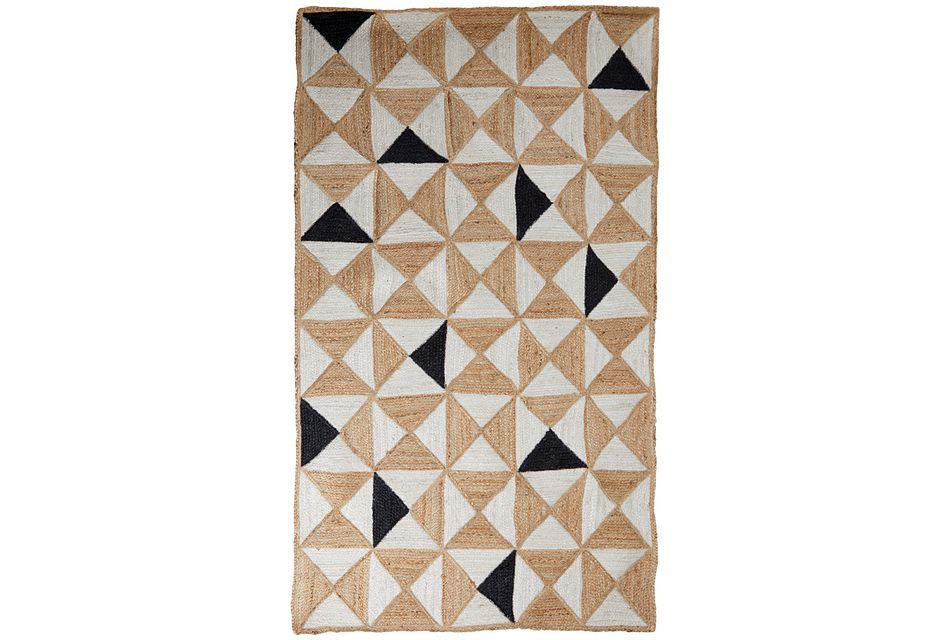 Aiden Dark Beige 8x11 Area Rug