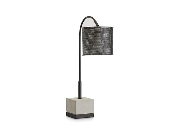 Orion Cement Table Lamp