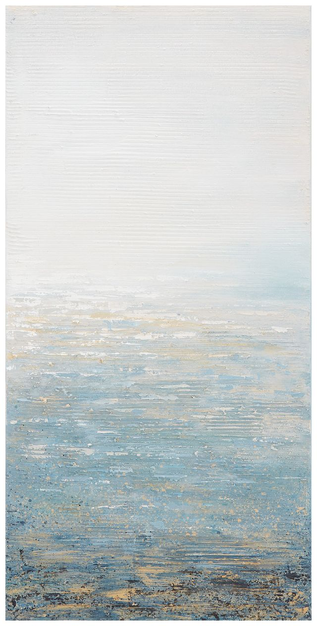 Seafoam Light Blue Canvas Wall Art (0)