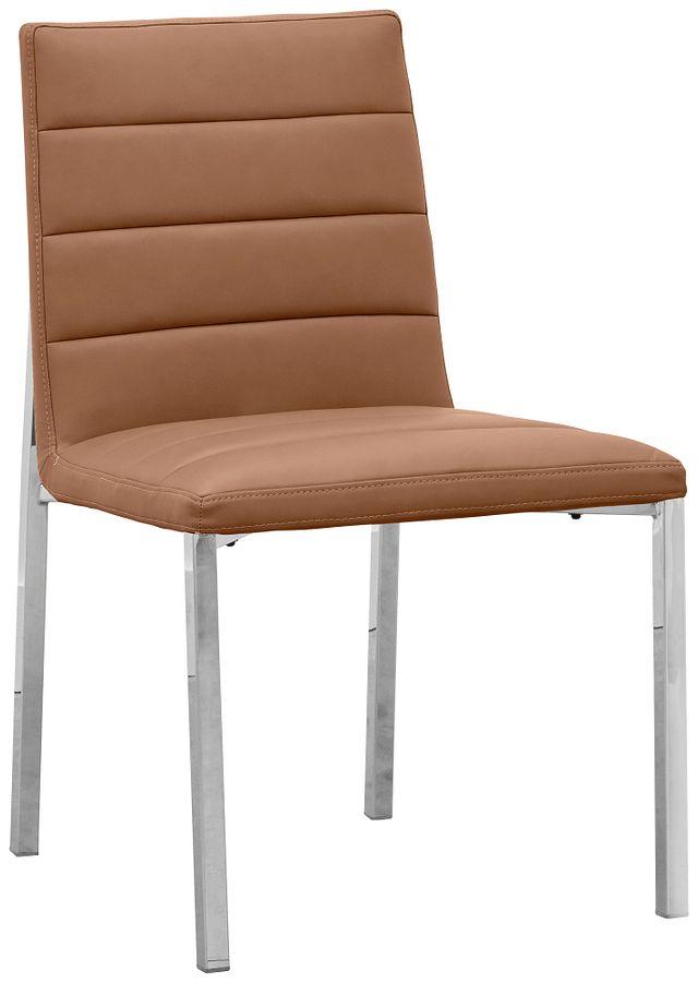 Amalfi Brown Uph Side Chair (0)