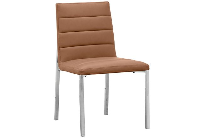 Amalfi Brown Uph Side Chair