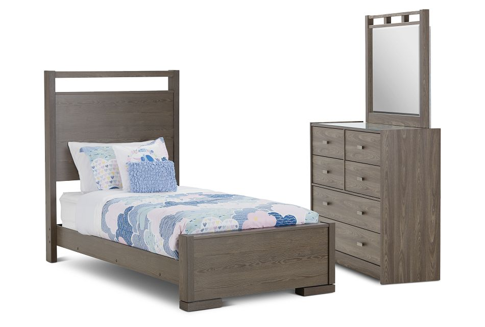 Sutton Light Tone Panel Bedroom
