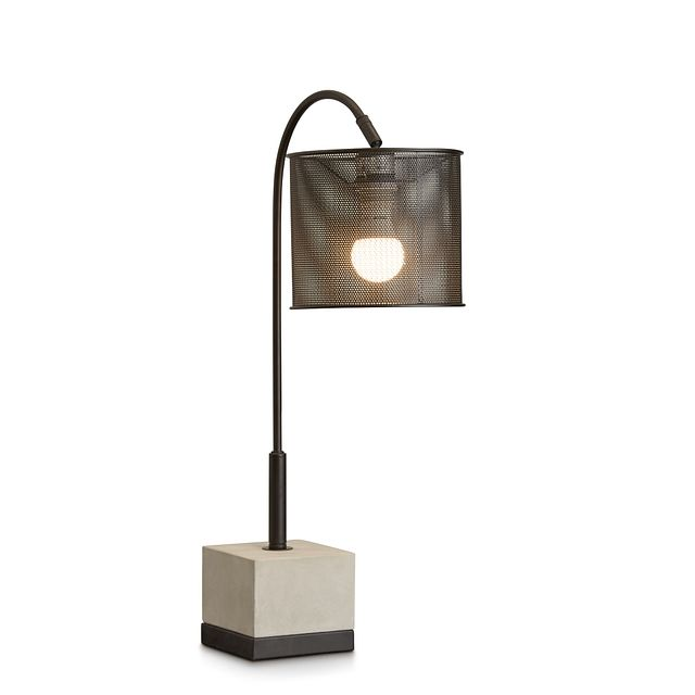 Orion Cement Table Lamp (2)