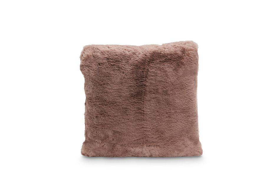 """Kaycee Dark Pink 18"""" Accent Pillow"""