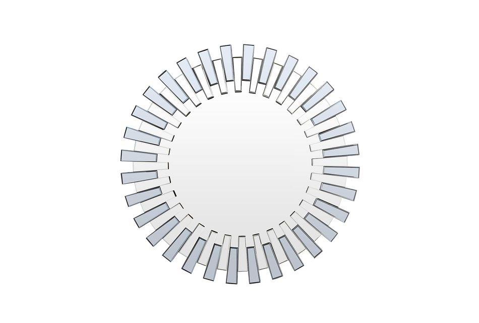 Sydney Silver  Mirror