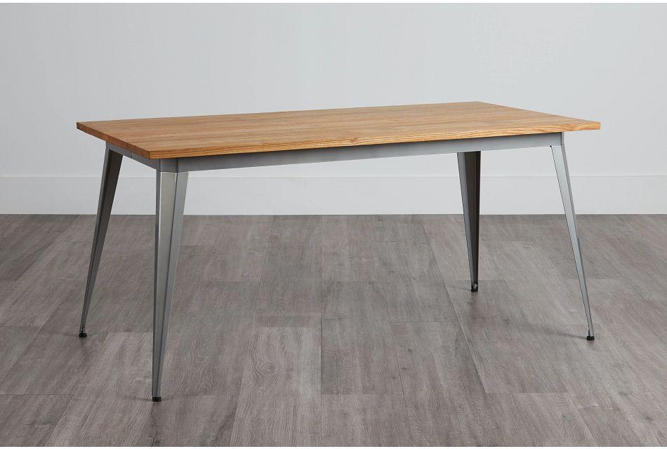 Huntley Light Tone Rectangular Table,  (0)