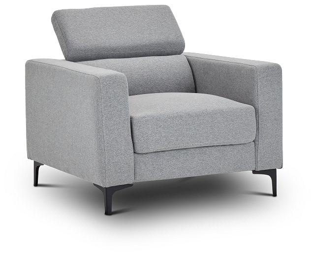 Trenton Light Gray Fabric Chair (3)