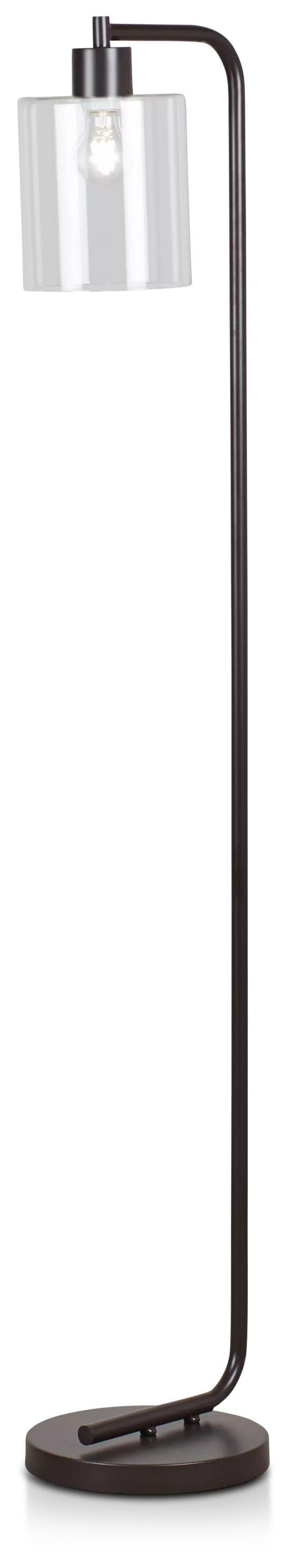 Maxwell Black Metal Floor Lamp (1)