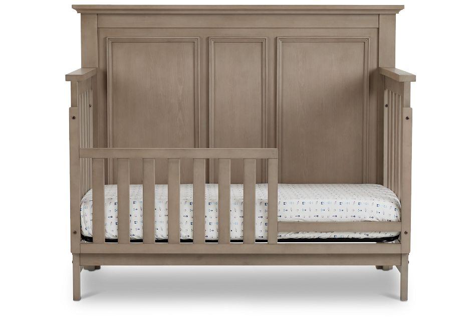 Kenilworth Light Tone Toddler Bed, Standard Crib (3)