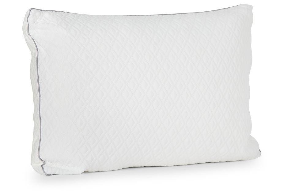 Rest & Renew Shredded Memory Foam  Firm Back Sleeper Pillow, Queen (2)