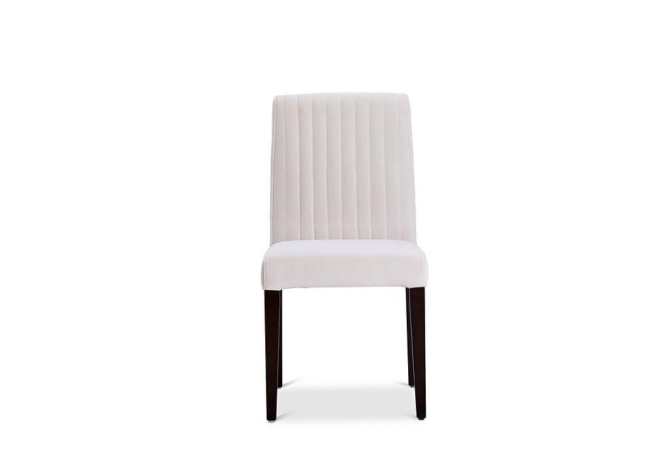Fraser Pewter Velvet Upholstered Side Chair