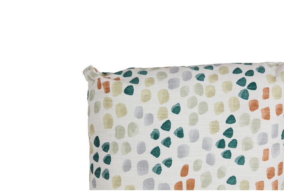 """Pfeiffer Green Fabric 18"""" Accent Pillow,  (1)"""