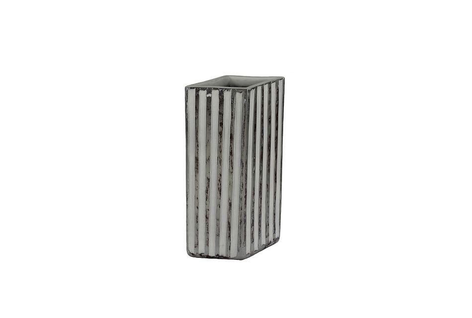Polly Gray Medium Vase