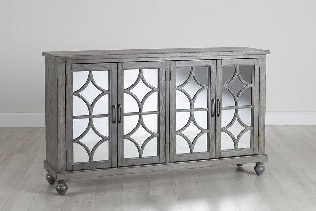 Ash Gray Four-door Cabinet (0)
