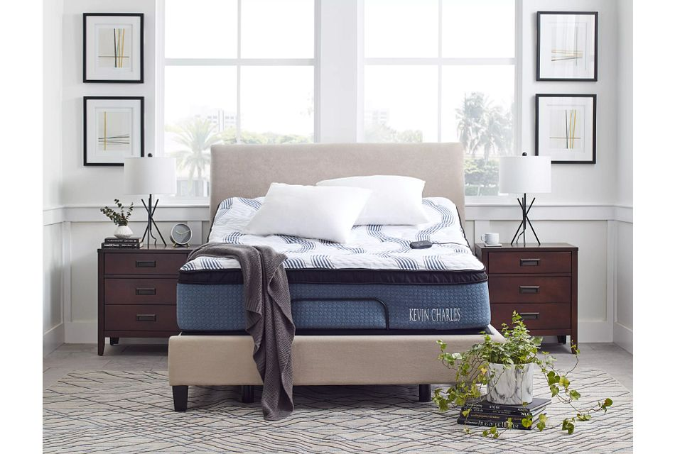 "Kevin Charles Sebastian Plush 13.5"" Euro Top Mattress"