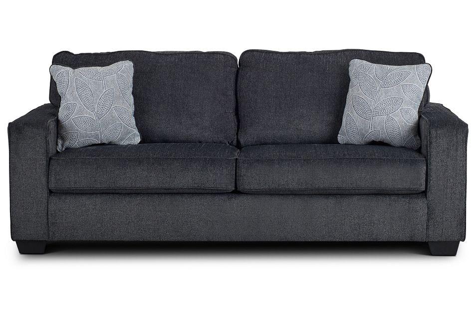 Altari Dark Gray Micro Sofa