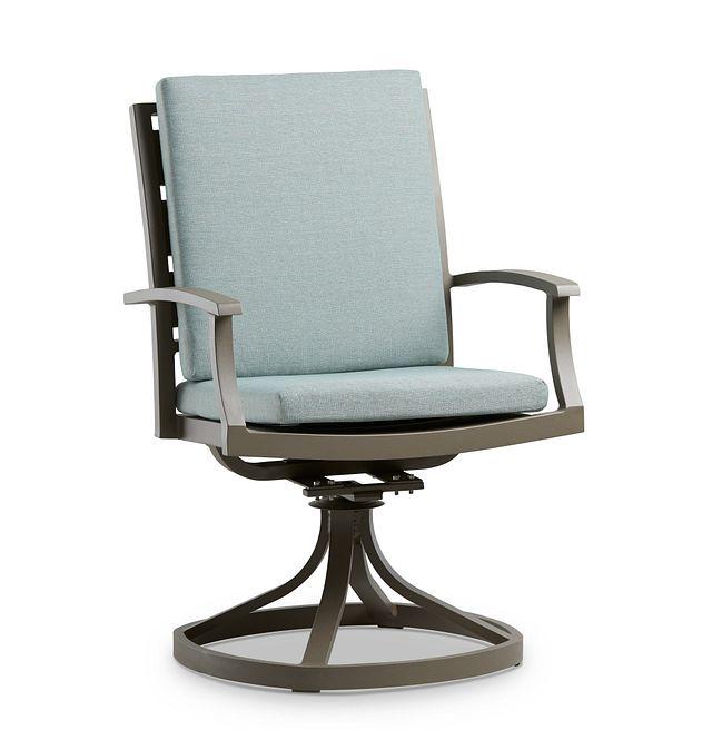 Raleigh Teal Swivel Arm Chair (0)