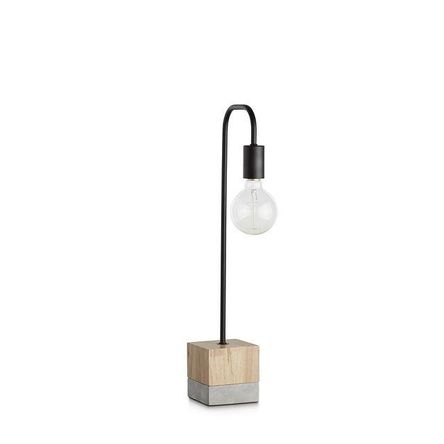 Leo Wood Table Lamp (1)