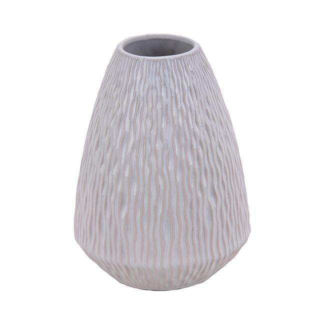 Waves White Vase (1)