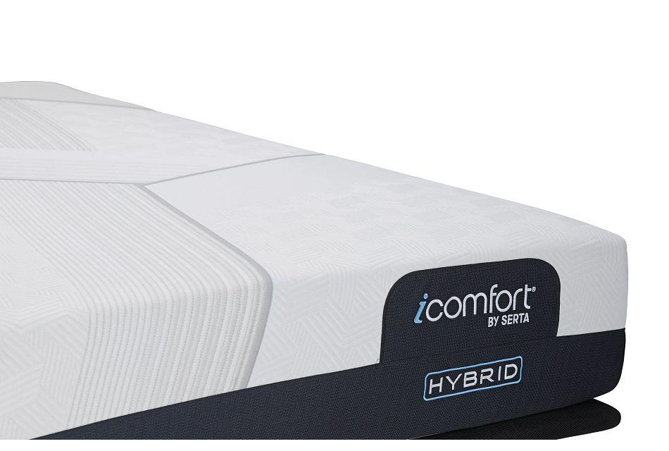 Serta Icomfort Cf1000 Medium Hybrid Mperfect4 Adjustable Mattress Set
