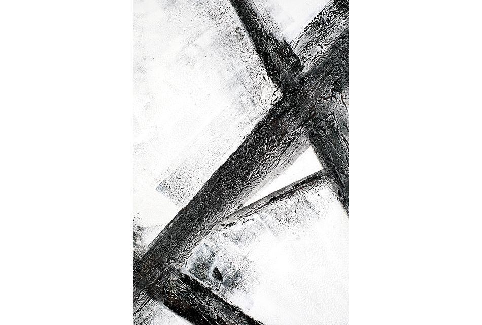 Grazia White Canvas Wall Art