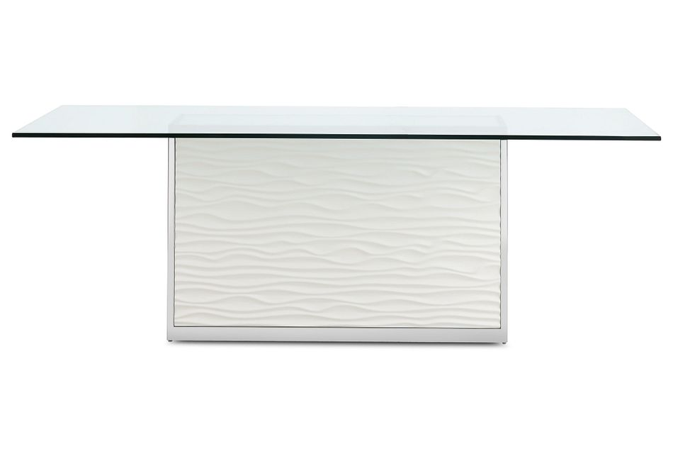 "Ocean Drive 86"" Glass Rectangular Table"