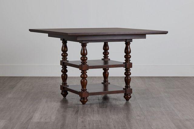 Savannah Dark Tone High Dining Table (2)