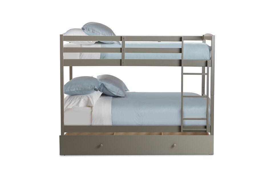 Marley Gray Storage Bunk Bed