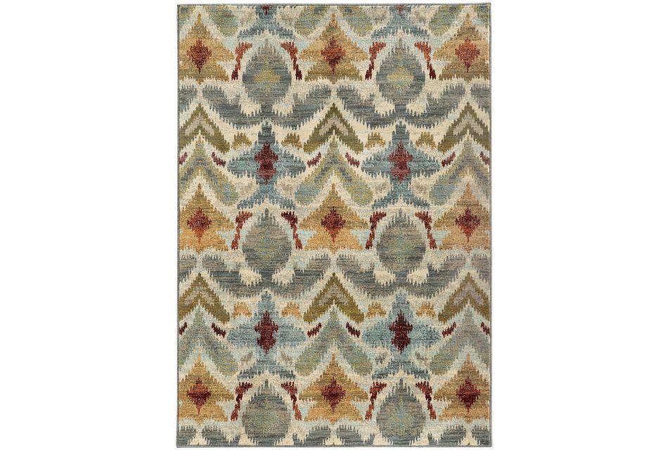 Sedona Multicolored   5x8 Area Rug, 5x8 AREA RUG
