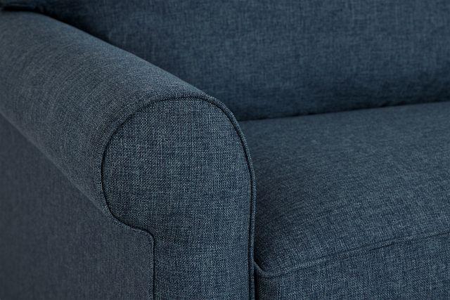 Cameron Blue Fabric Innerspring Sleeper