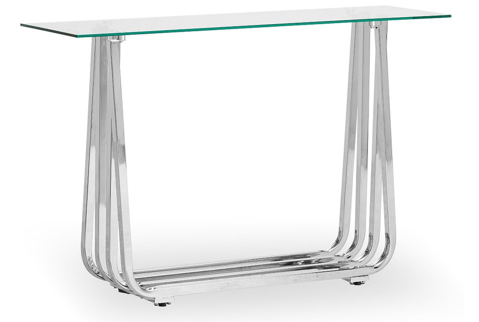 Rachel Glass Console Table