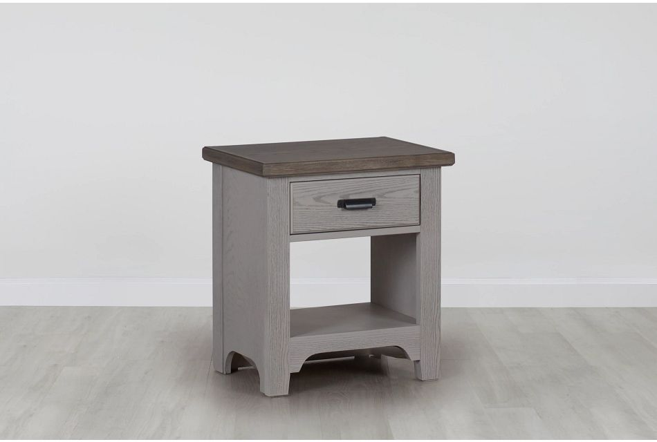 Bungalow Two-tone 1-drawer Nightstand