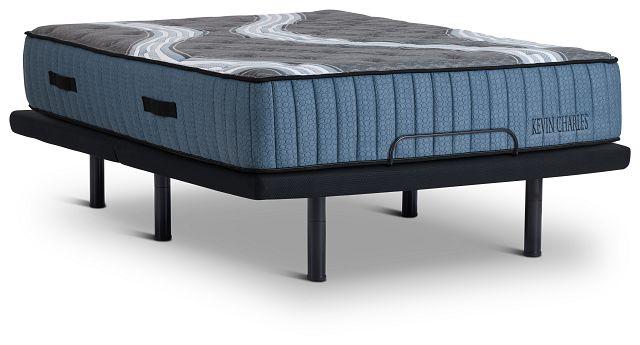 Kevin Charles Vanderbilt Lux Firm Luxury Firm Gold Adjustable Mattress Set