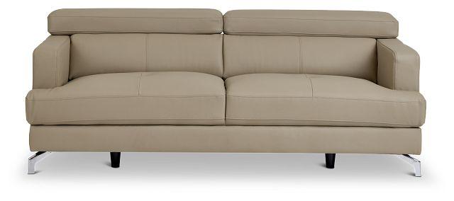 Marquez Taupe Micro Sofa (1)
