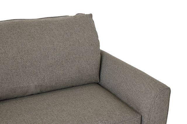 Asheville Brown Fabric Memory Foam Sleeper (0)