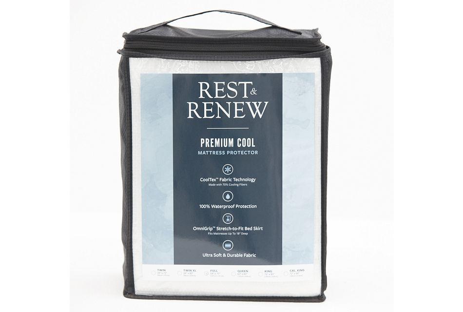 Rest & Renew Premium Cool Mattress Protector