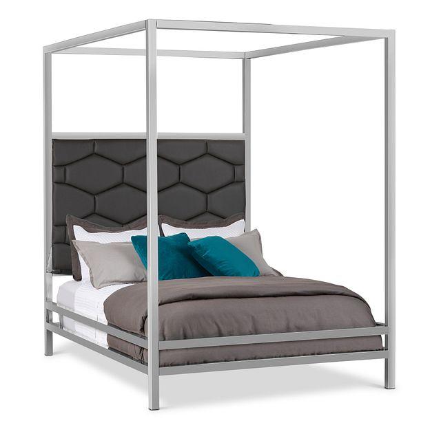 Cortina Gray Canopy Bed (0)