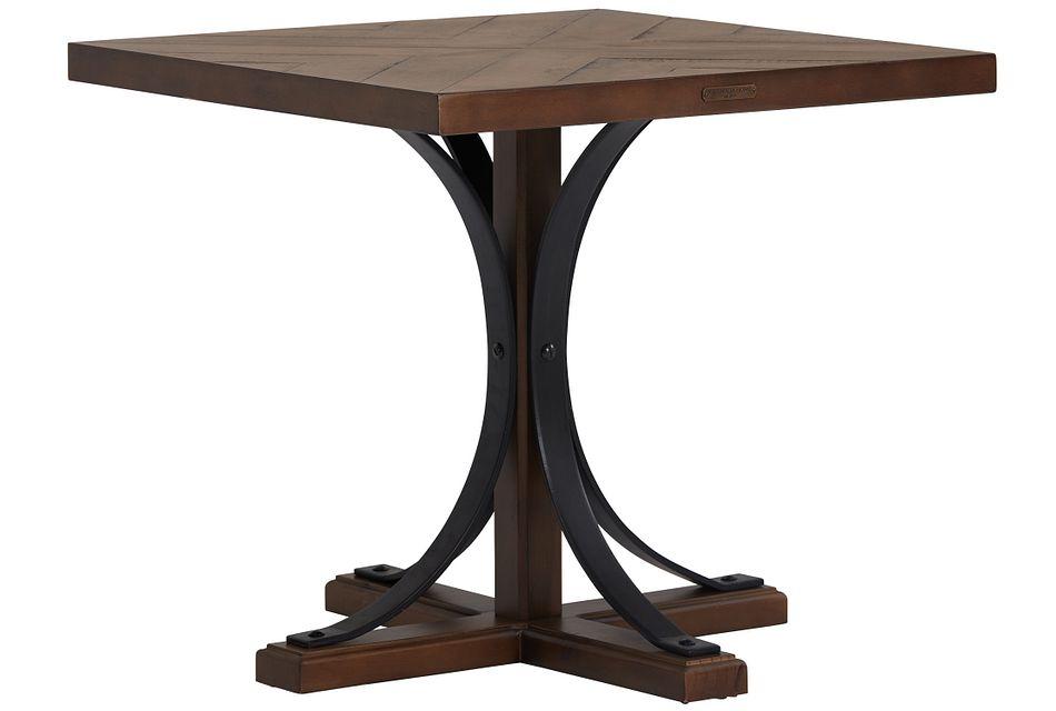 Iron Trestle Mid Tone  End Table
