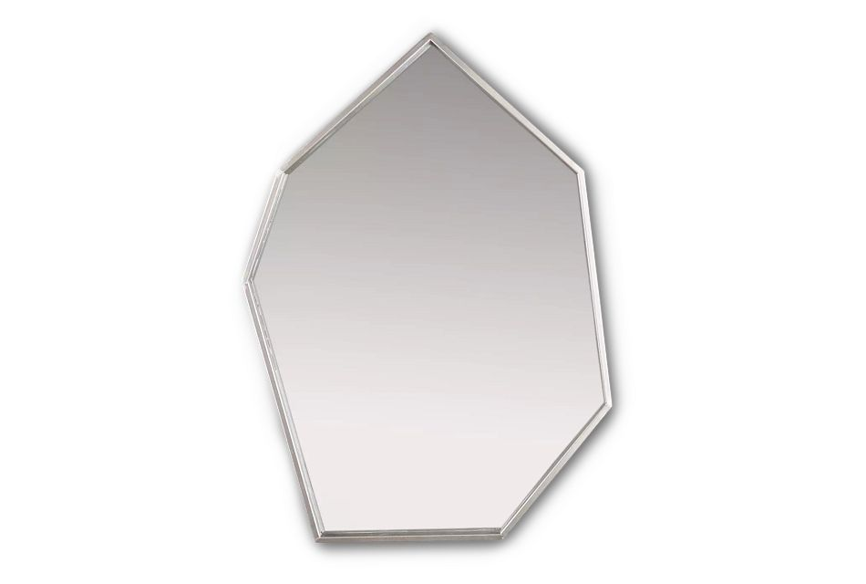 Ajax Geometric Metal Mirror