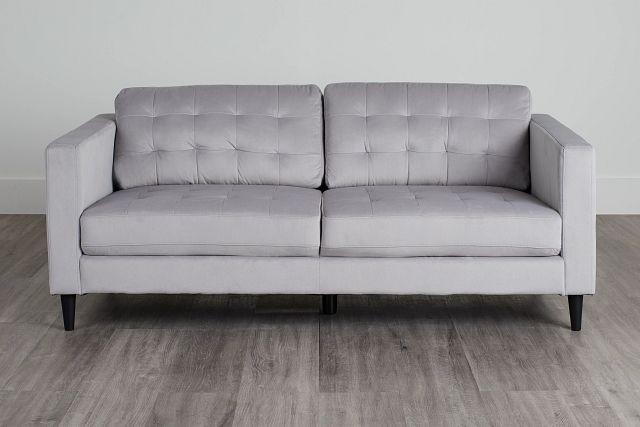 Shae Light Gray Micro Sofa (0)