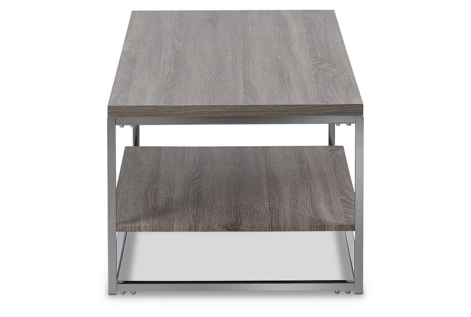 Elliot Gray Rectangular Coffee Table