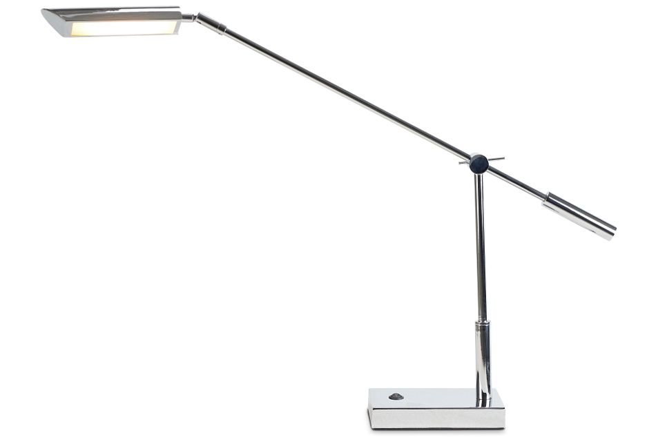 Nina Chrome Desk Lamp,  (2)