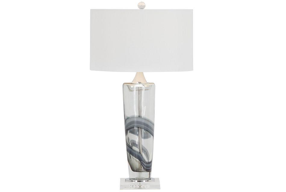 Nikola Gray Table Lamp