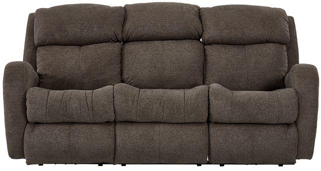 Finn Brown Fabric Power Reclining Sofa (0)