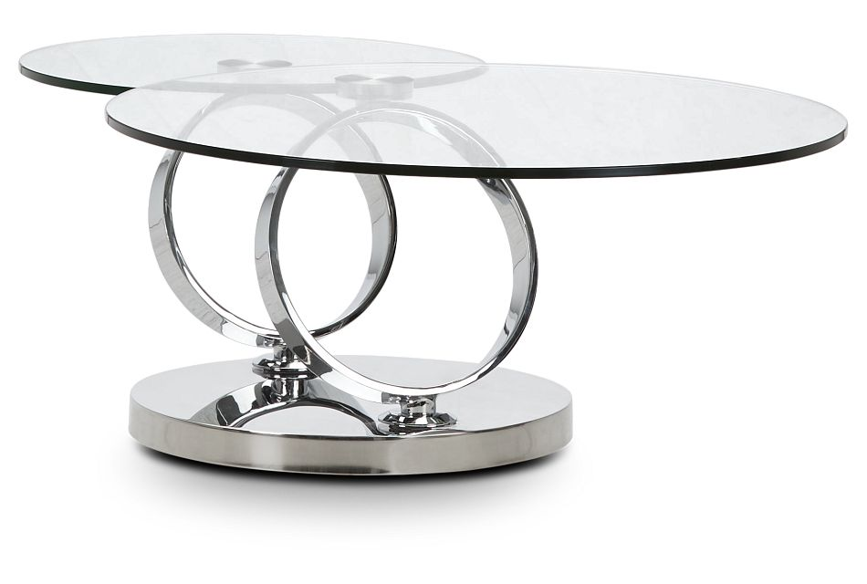 Grafton Glass Round Coffee Table