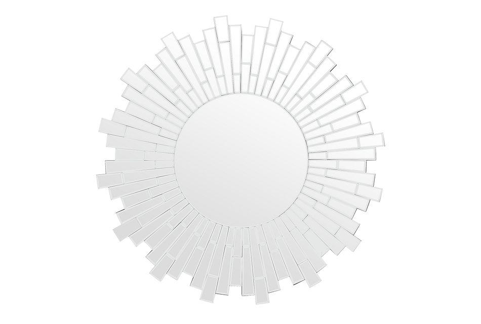 Burst Silver Mirror