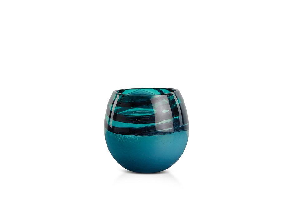 Tedi Dark Teal   Vase,  (1)
