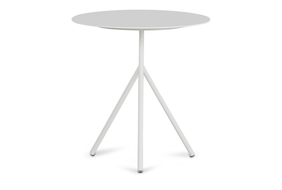 Ibiza White Low Accent Table,  (0)