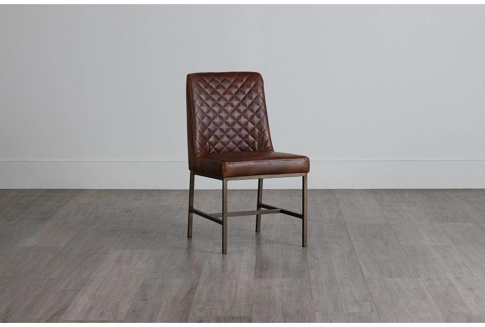 Sierra Brown Micro Side Chair,  (0)